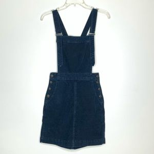 Ag Adriano Goldschmied Corduroy Overall Dress XS